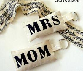 Mothers day - Keychain -gifts for her - Mrs - Mom - momogram