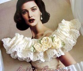 Vintage Lace / Wedding Garter set / garters / bridal garter set
