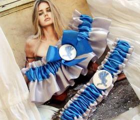 Detroit Lions - Wedding Garter Set - Garters