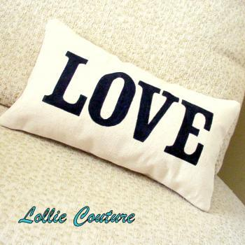 Love Pillow - Valentine Pillow - Valentine Gift - Valentines Day Decor - 6